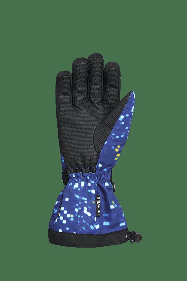 Kinder Winter- und Ski-Handschuh mit Dry-Tec Membrane, Glove, colored lights