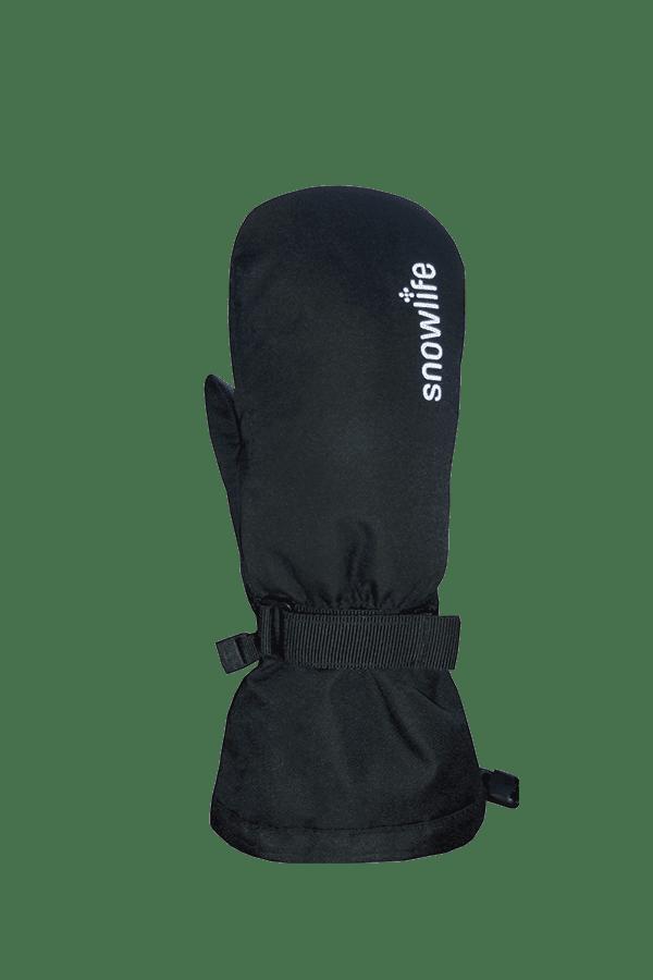 Kinder Winter- und Ski-Handschuh mit Dry-Tec Membrane, Fäustlinge, Glove, schwarz