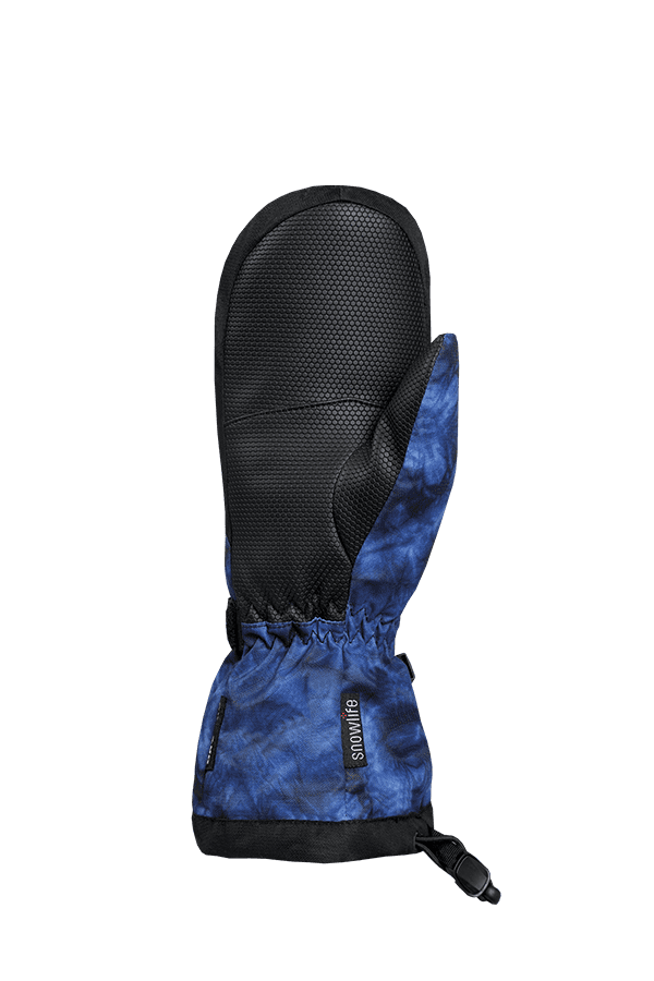 Kinder Winter- und Ski-Handschuh mit Dry-Tec Membrane, Fäustlinge, Glove, blue aqua