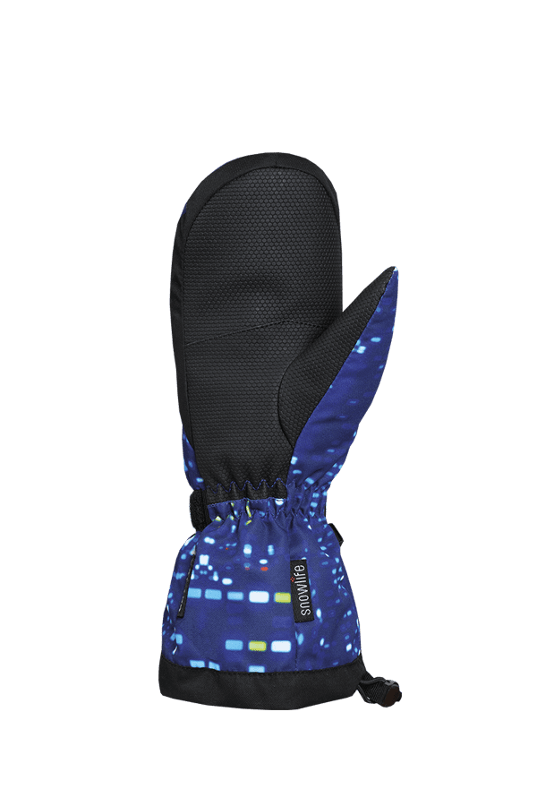 Kinder Winter- und Ski-Handschuh mit Dry-Tec Membrane, Fäustlinge, Glove, colored lights