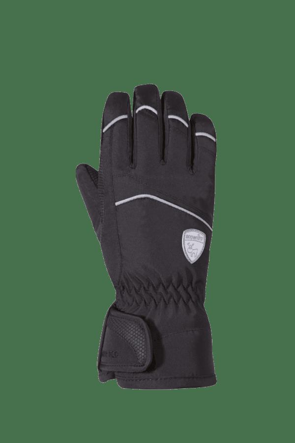 Kinder Winter- und Ski-Handschuh mit Dry-Tec Membrane, Glove, black