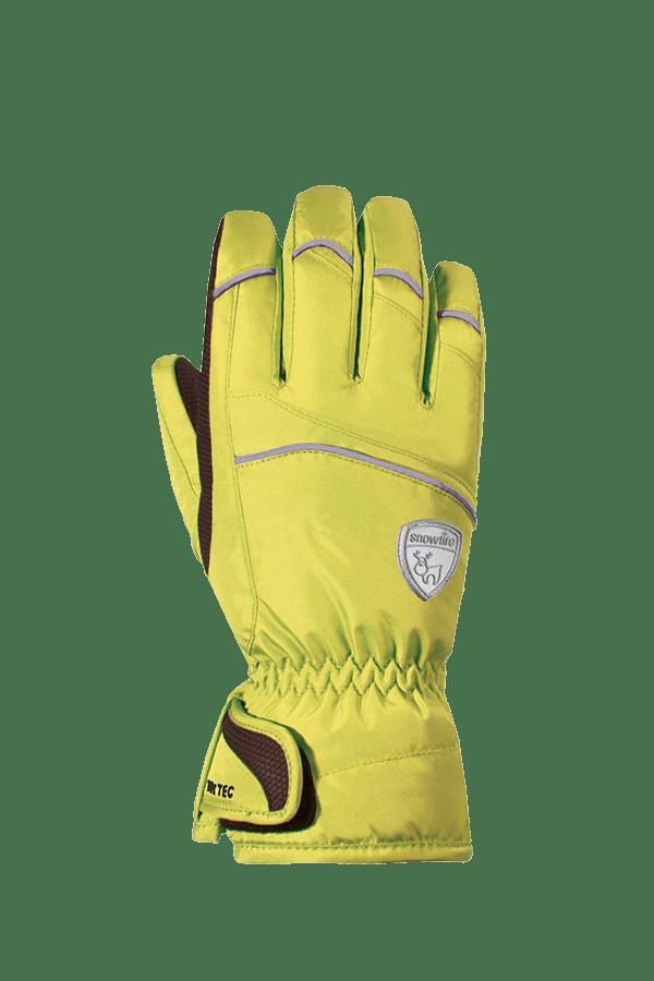 Kinder Winter- und Ski-Handschuh mit Dry-Tec Membrane, Glove, lime