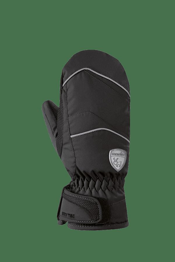 Kinder Winter- und Ski-Handschuh mit Dry-Tec Membrane, Fäustlinge, Glove, black