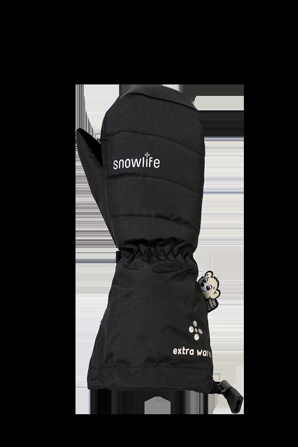 Kinder Winter- und Ski-Handschuh, Fäustlinge, Glove, schwarz