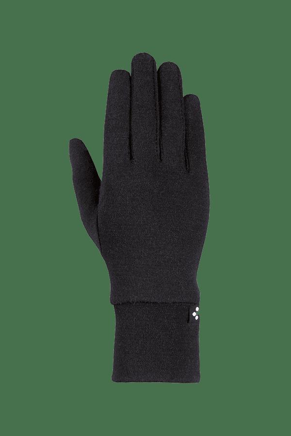 Winter- und City-Handschuh aus Merino-Wolle, Glove, schwarz