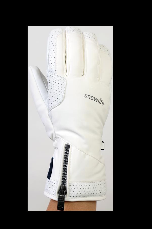 Gant Ovis GTX, gant noble, haute qualité, avec membrane Gore-Tex, blanc