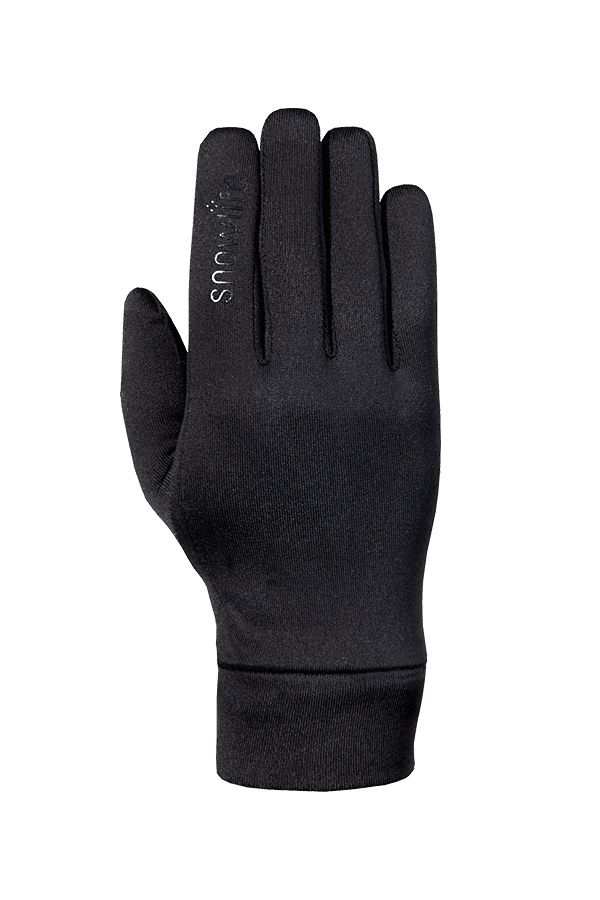 Winter- und City-Handschuh aus Polartec Stretch Fleece, Glove, schwarz