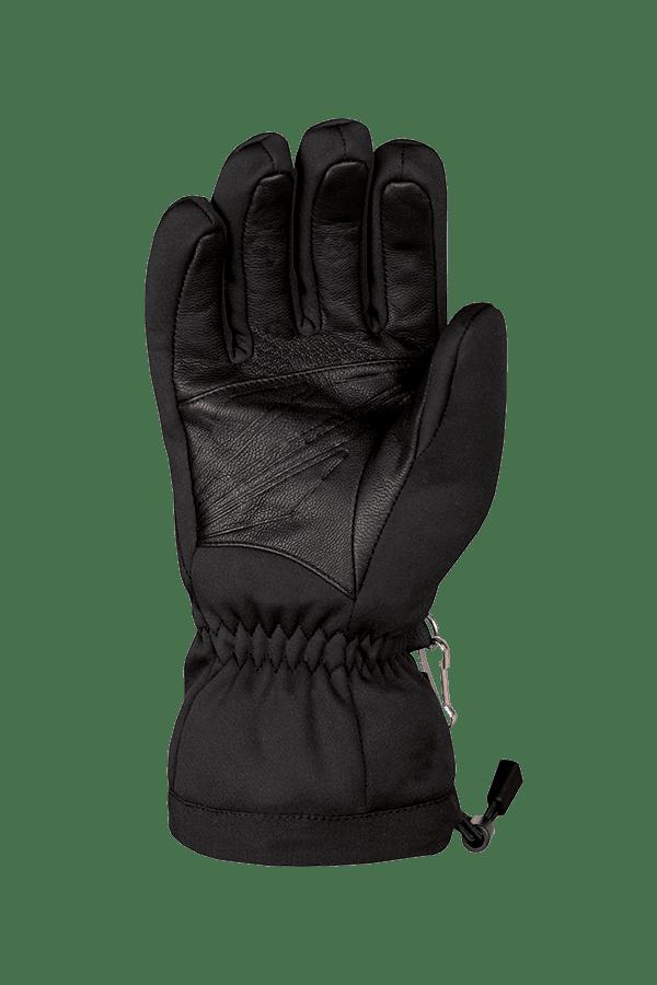 Mehrzweck-Handschuh mit Gore-Tex Infinium Windstopper Technologie, Handinnenfläche mit Leder, Farbe schwarz