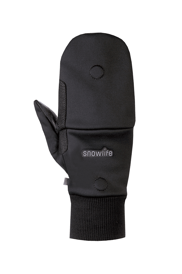 Mehrzweck-Handschuh mit Faustkappe, Glove, schwarz