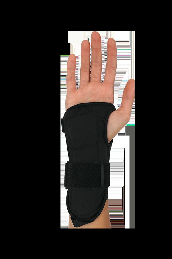 wrist protector, backhand