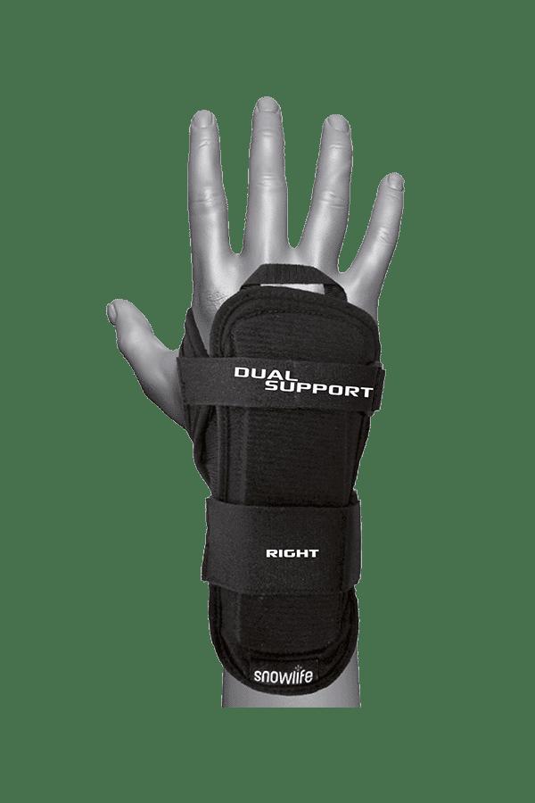 Handgelenkschutz mit dichtem Schaumstoff, schwarz