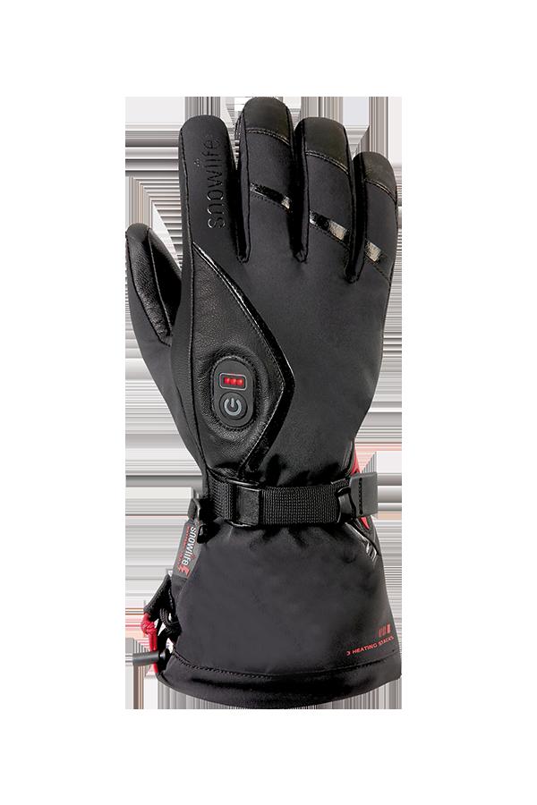 Heizhandschuhe, Heat GTX Glove, schwarz, mit Gore-Tex Membrane, Wind- und Wasserfest