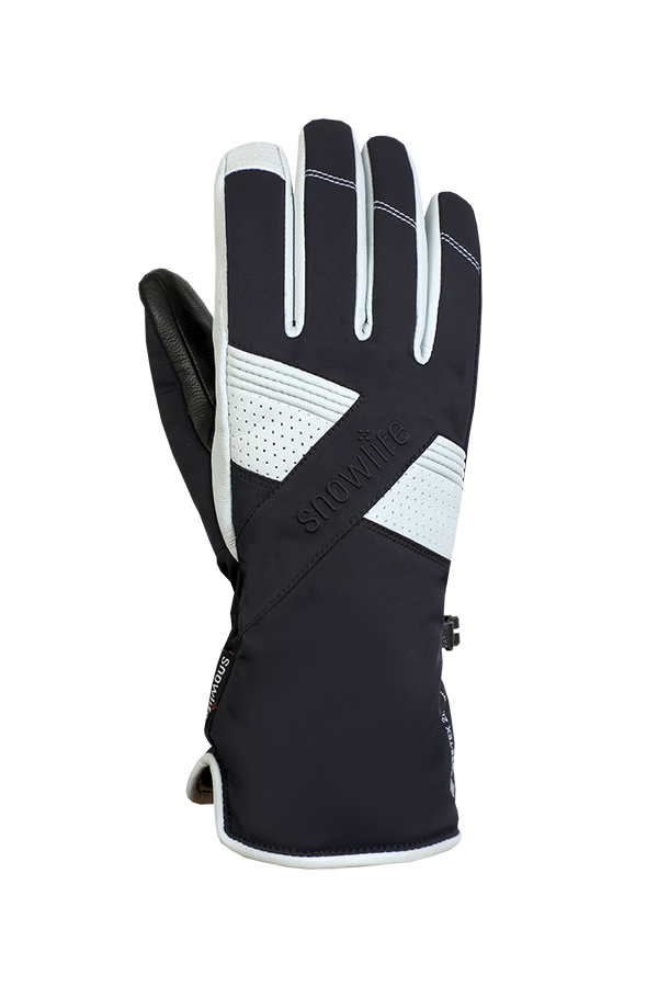 Chamber GTX Glove, glove with Gore-Tex 2 in 1 technology, in the colours blue and white