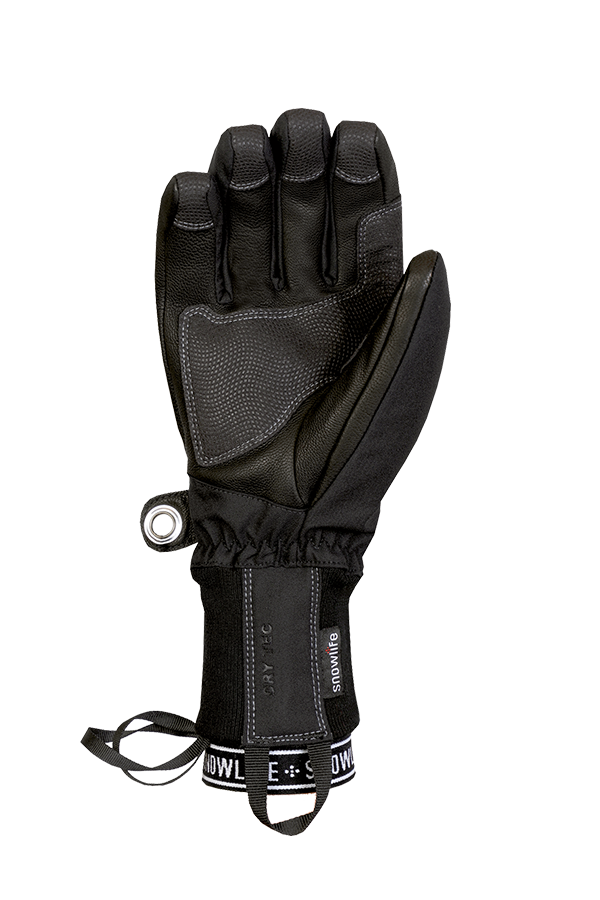 Flow DT Glove, black, grey