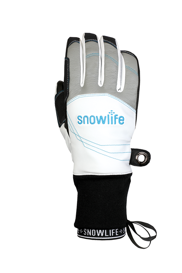 Flow DT Glove, white, blue