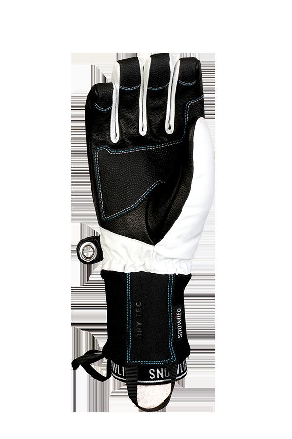 Flow DT Glove, Freeride Gants, blanc et bleu