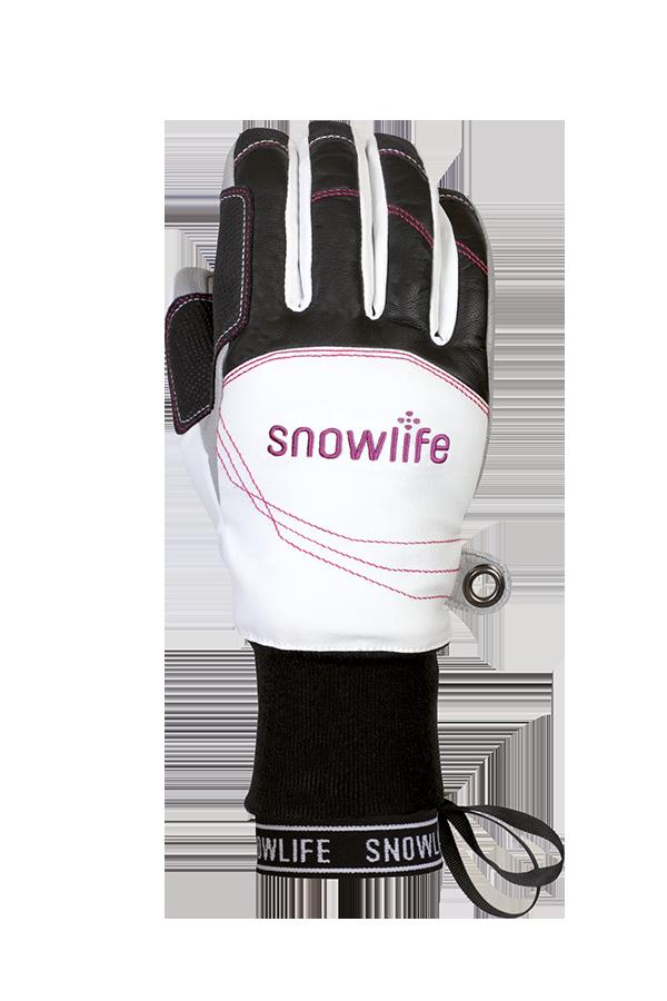 Flow DT Glove, white, red