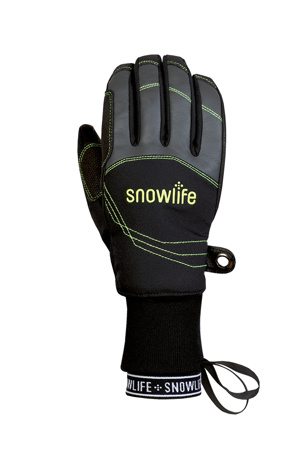 Flow DT Glove, Freeride Gants, noir et vert