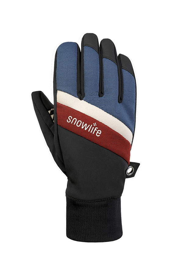 Future DT Glove, Freeride Gants, bleu, rouge, beige