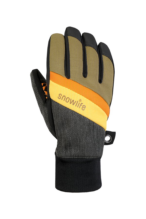 Future DT Glove, Freeride, yellow, orange, brown