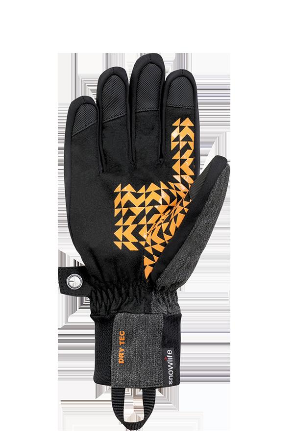 Future DT Glove, Freeride, yellow, orange, brown