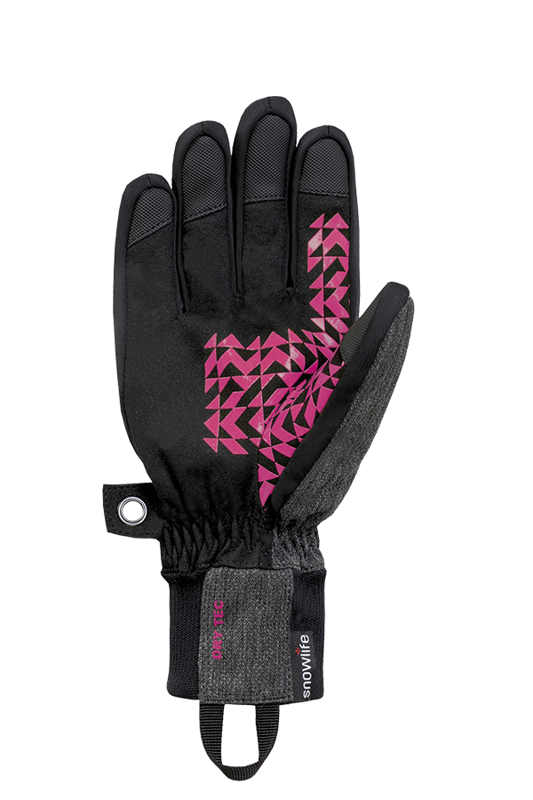 Future DT Glove, Freeride Gants, bleu, rouge, pink