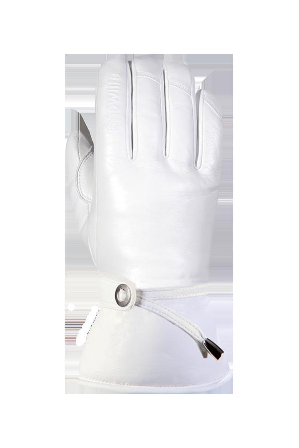 Grand Soft DT Glove, Gants de cuir, femmes, blanc