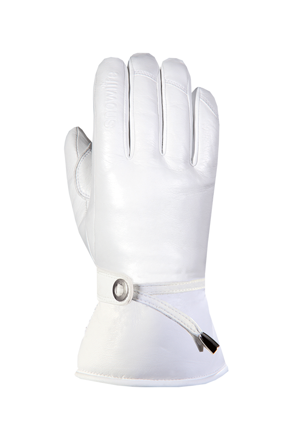 Grand Soft DT Glove, female, real leather, white