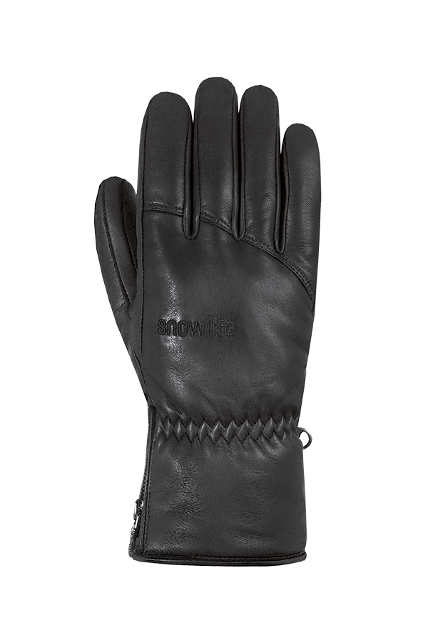 Grand Soft DT Glove, male, real leather, black