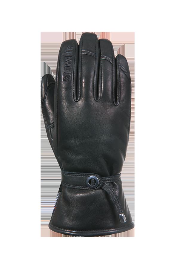 Grand Soft DT Glove, Gants de cuir, femmes, noir