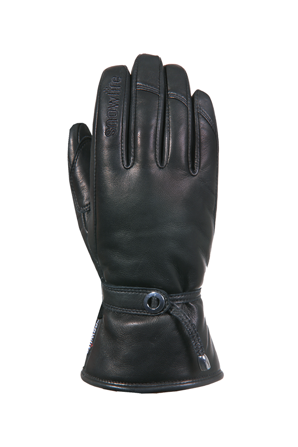 Grand Soft DT Glove, female, real leather, black