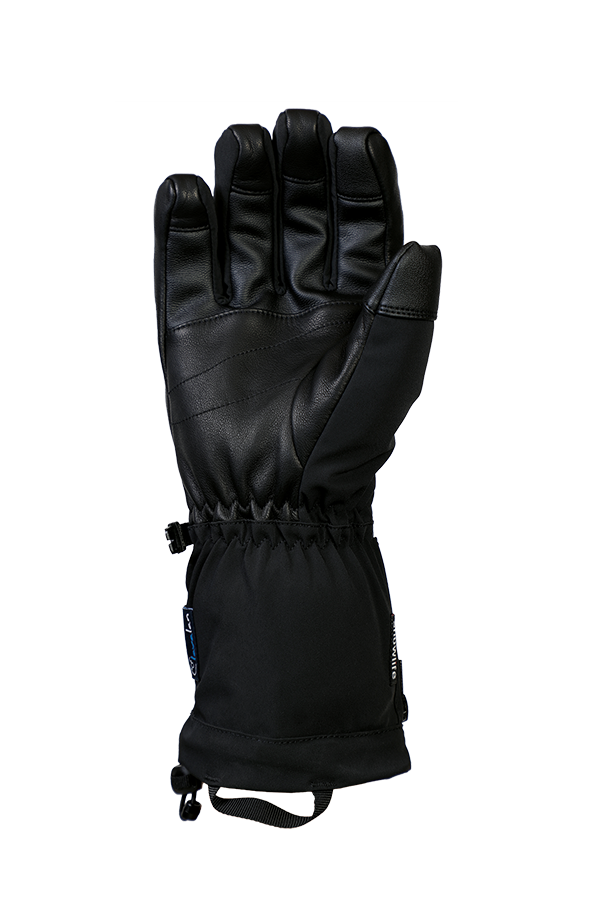 Heat DT Glove, heatable glove, with battery, extra warm, with Lavalan, black