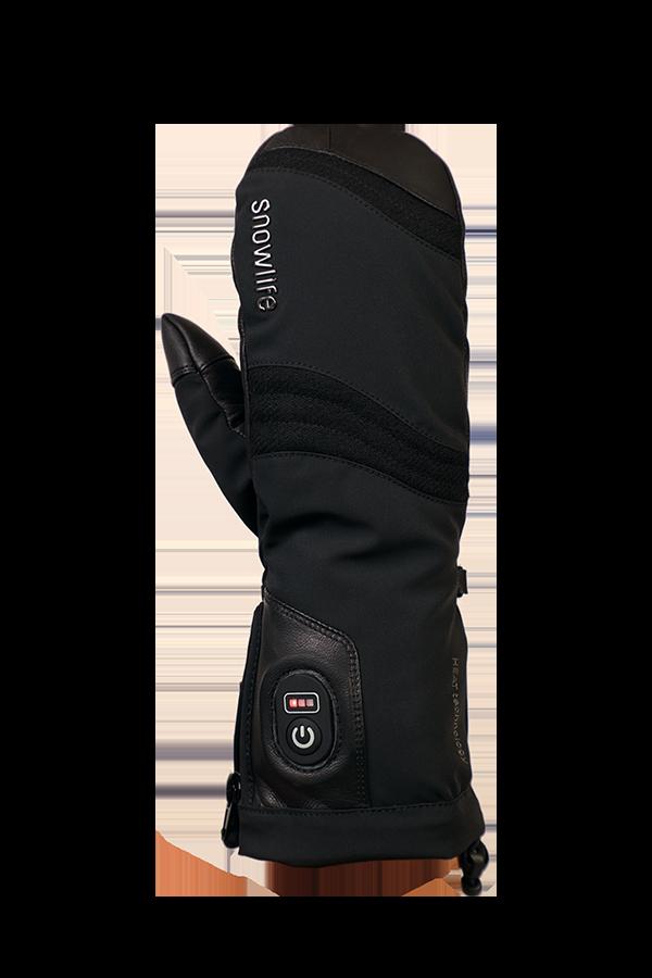 Heat DT Glove, Gants, moulfes chauffant, tres chaud, avec batterie, noir