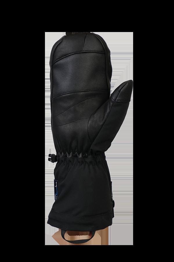 Heat DT Glove, Mitten Gloves. heatable glove, with battery, extra warm, with Lavalan, black