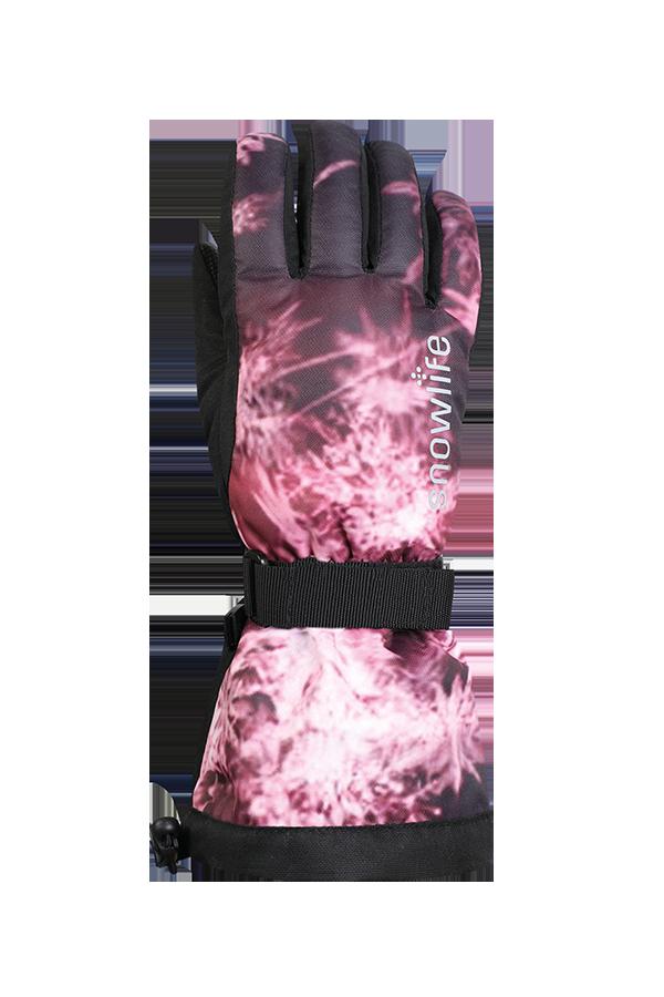 Juniors Long Cuff DT Glove, Gants pour jeunes avec longue manchette, rosa
