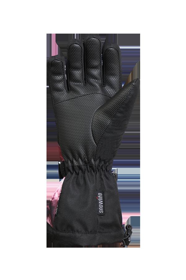 Juniors Long Cuff DT Glove, snow flower, rosa