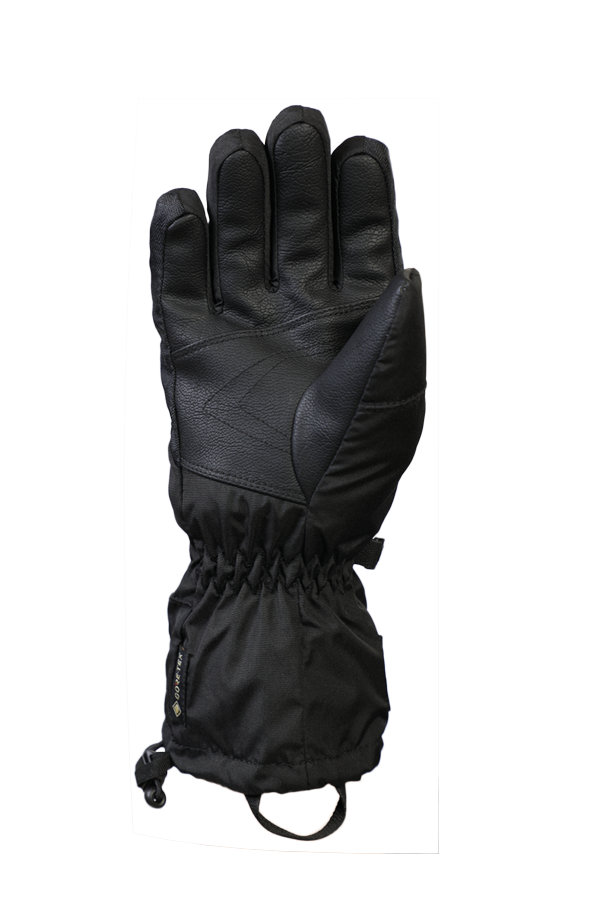 Junior Lucky GTX Glove, gloves for kids, with Gore-Text membrane, warm, breathable, waterproof, black
