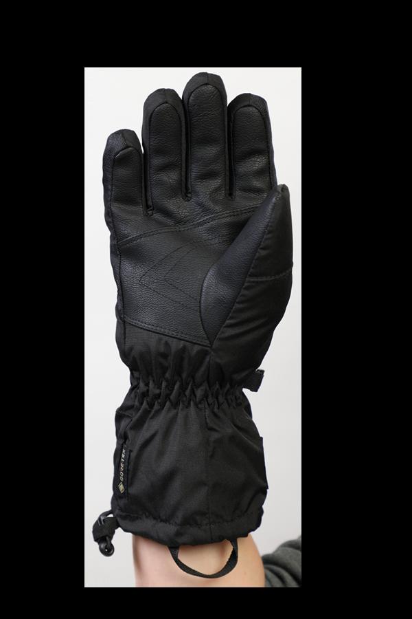 Junior Lucky GTX Glove, Handschuhe für Kinder, mit Gore-Text Membrane, warm, atmungsaktiv, wasserfest, schwarz