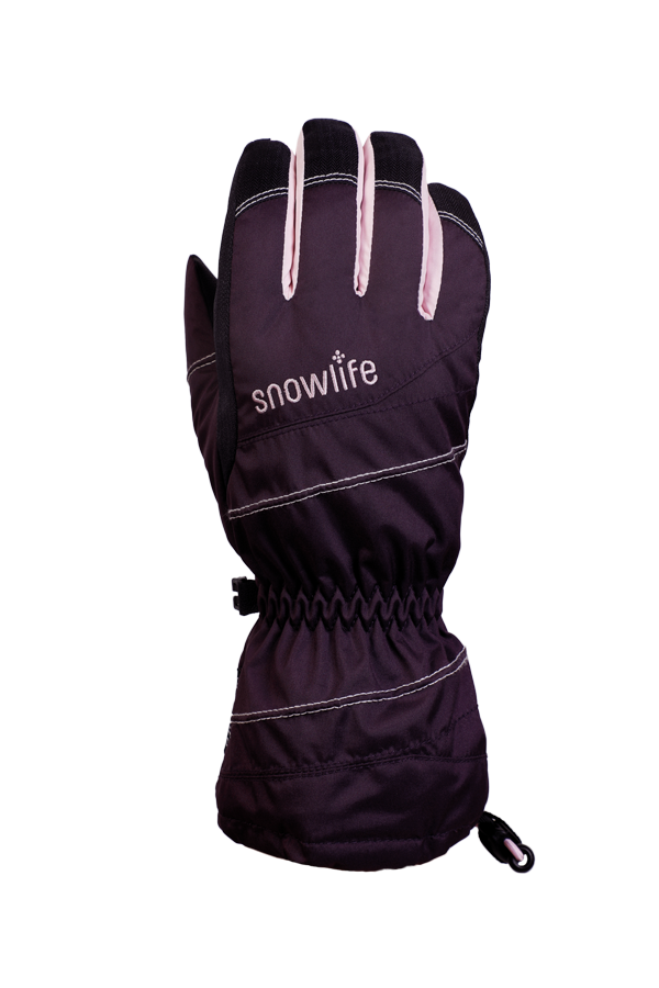 Junior Lucky GTX Glove, gloves for kids, with Gore-Text membrane, warm, breathable, waterproof, violet