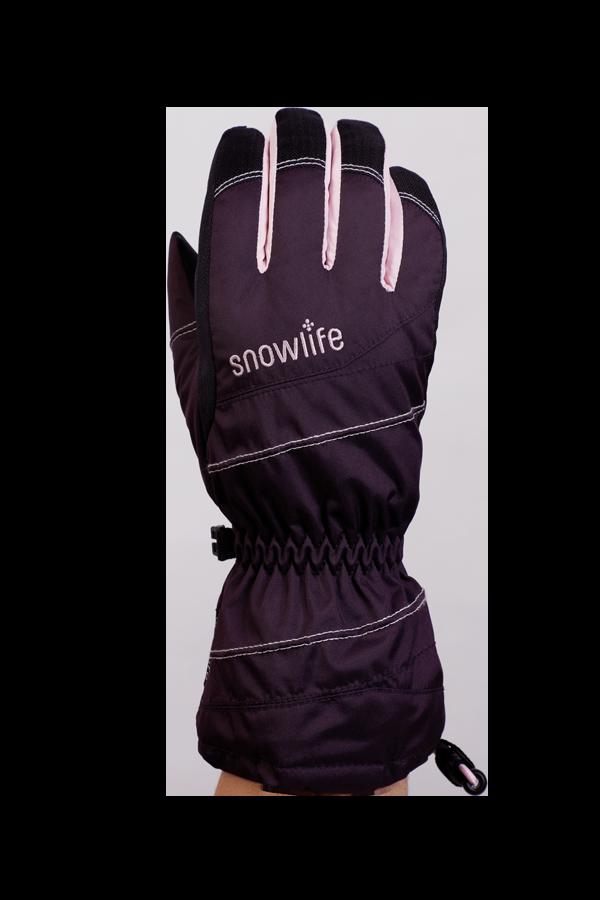 Junior Lucky GTX Glove, Handschuhe für Kinder, mit Gore-Text Membrane, warm, atmungsaktiv, wasserfest, violet, rosa