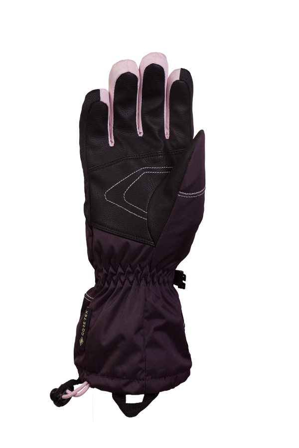 Junior Lucky GTX Glove, gants pour enfants, avec membrane Gore-Text, chaud, respirant, imperméable, violet, rosa