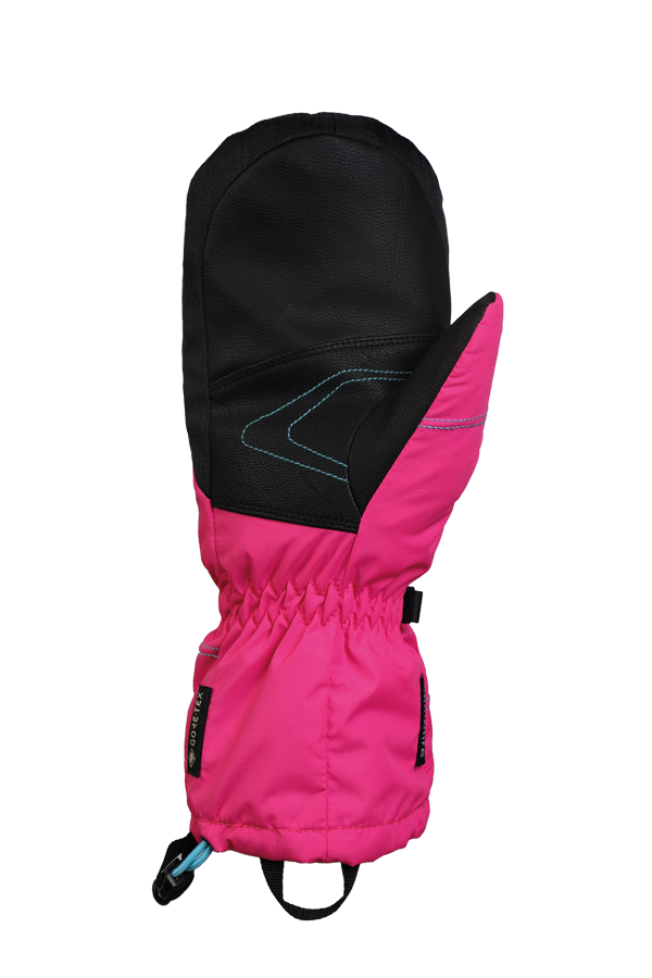 Junior Lucky GTX Mitten, gloves for kids, with Gore-Text membrane, warm, breathable, waterproof, pink