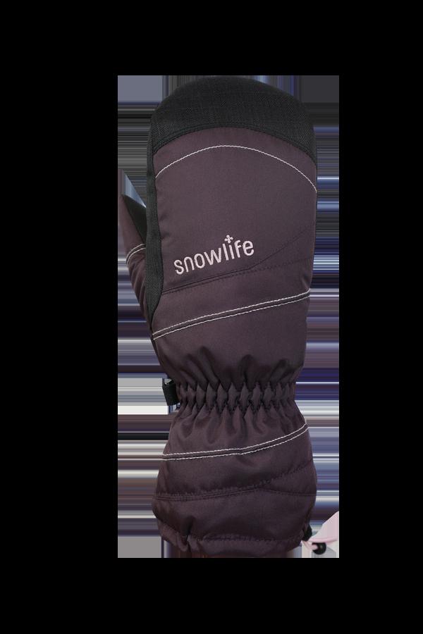 Junior Lucky GTX Glove, Fausthandschuhe, Handschuhe für Kinder, mit Gore-Text Membrane, warm, atmungsaktiv, wasserfest, violett, rosa