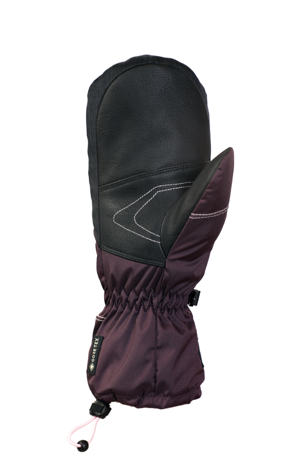 Junior Lucky GTX Mitten, gloves for kids, with Gore-Text membrane, warm, breathable, waterproof, violett, rose