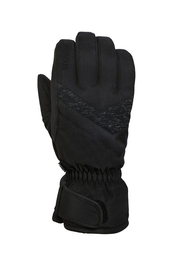 Junior Orion DT Glove, kid gloves, warm, water resistant, black