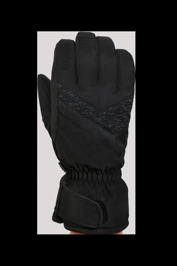Junior Orion DT Glove, gants pour enfants, chaud, résistant à l'eau, noir