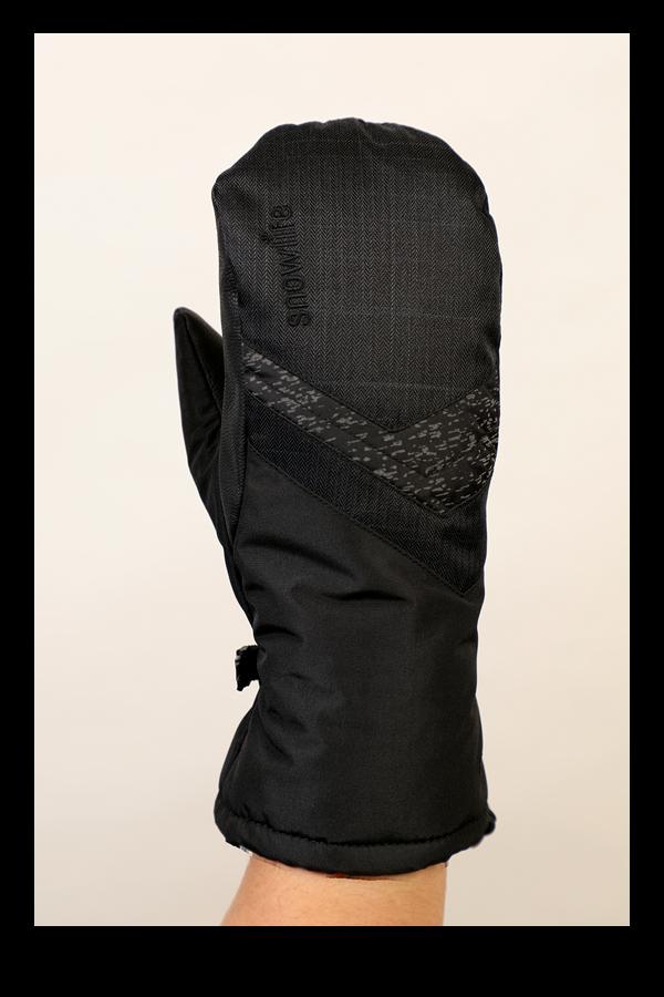 Junior Orion DT Glove, Fausthandschuhe, Kinderhandschuhe, warm, wasserabweisend, schwarz