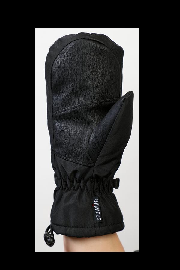 Junior Orion DT Mitten, kid gloves, warm, water resistant, black