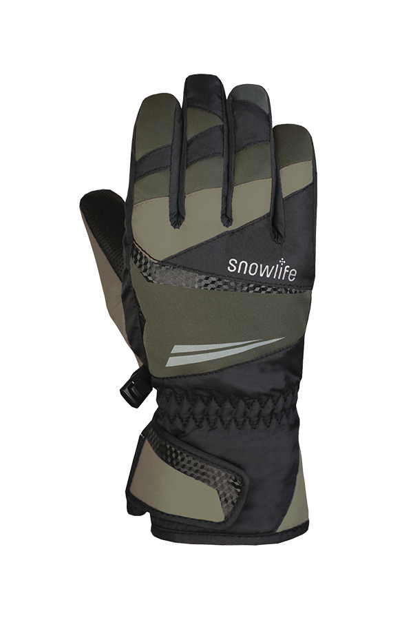 Juniors Racer DT Glove, Racing Gloves, Winter, Childern, army green