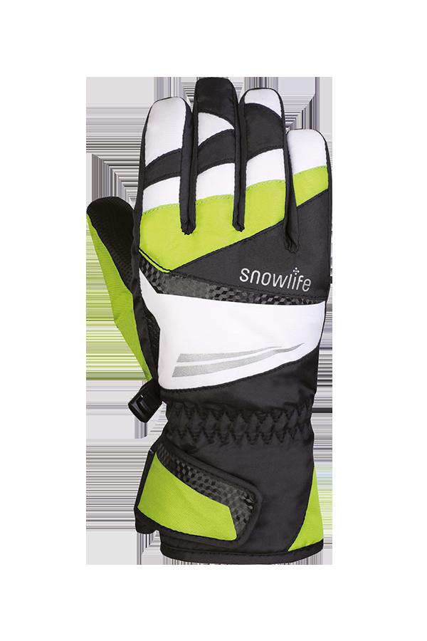 Juniors Racer DT Glove, Gants de jeunes, Race, vert